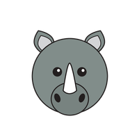 Link to animaru Rhinoceros