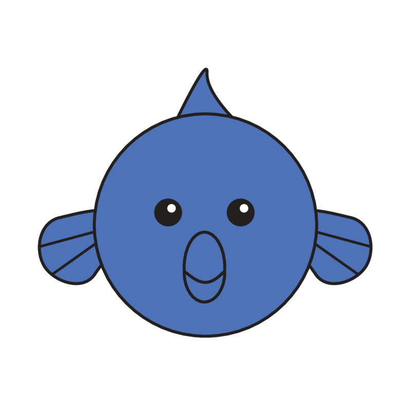 animaru Blue Dolphin Fish